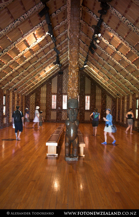 Waitangi Meeting House, Waitangi, New Zealand