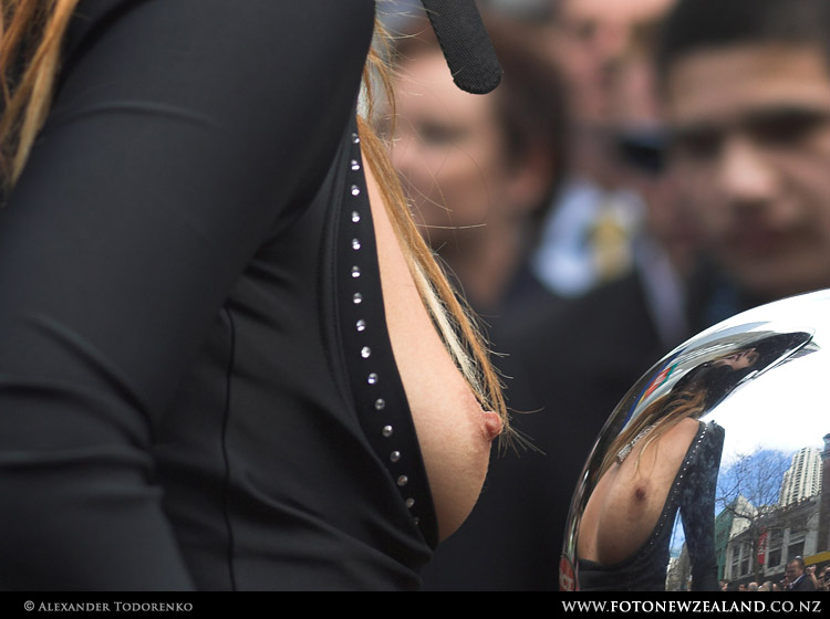 Boobs on Bikes Parade, Auckland, New Zealand