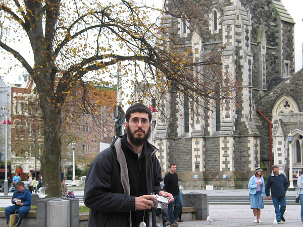 ... countries visit Chch :), Cathedral Square, Christchurch, New Zealand