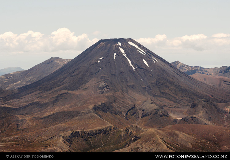 Mount Ngauruhoe (Doom), Tongariro National Park, New Zealand