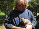 Roger and opossum Skungy