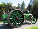A mobile smoker. Steam engine