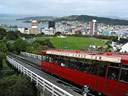 Classical view of Wellington from the top cable car station