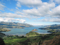 Akaroa Harbour, South Island