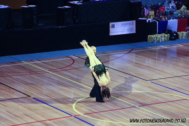 Ceroc super girl move
