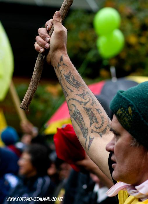 Узоры татуировки в маорийском стиле