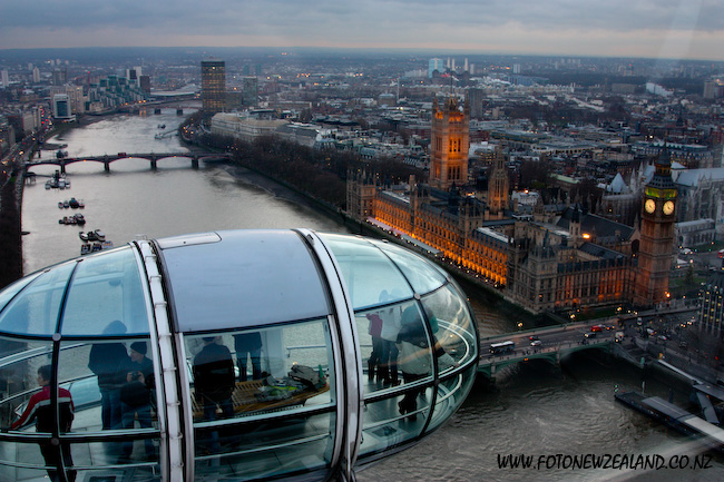 London Eye, Themes, Houses of Parliament, Big Ben