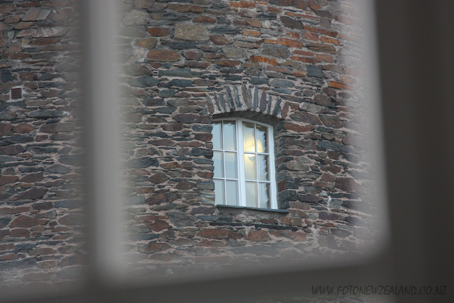 Castle window in Rhine valley, Germany